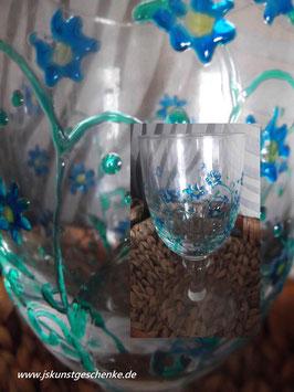 """Großes Kerzenglas """"Blütenzauber"""""""