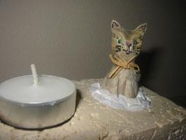 "Teelichthalter ""Kätzchen"""