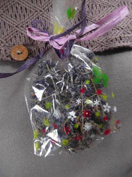 1 Beutelchen getrockneter Lavendel