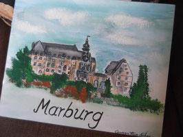 "Leinwandbild ""Marburg"""