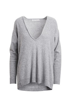 RABENS SALONER | CASHMIX V NECK SWEATER | IDA
