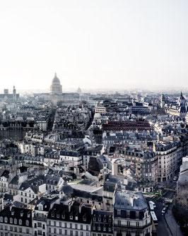 BLICK VON NOTRE DAME, PARIS, 2019