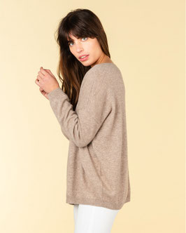 ABSOLUT CASHMERE | PULLOVER ANGÈLE | TAUPE