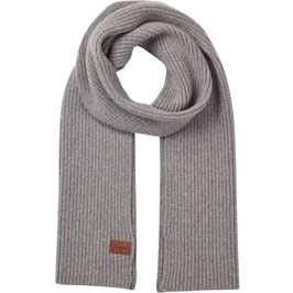 KLITMØLLER COLLECTIVE | HEAVY RIB SCARF LIGHT GREY