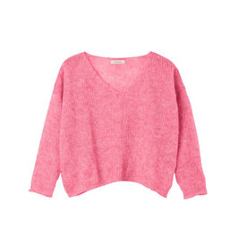 ANOTHER ME | PULLOVER 'NICE AND EASY' | SOFT PINK