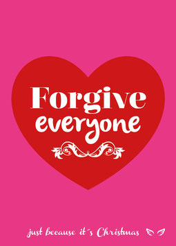 Forgive everyone | Postkarte