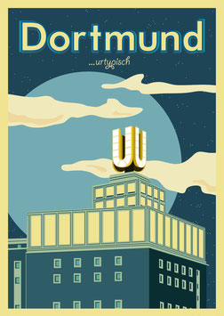 Poster DIN A3 - Dortmund urtypisch