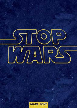 Stop Wars | Postkarte