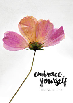 Embrace yourself | Postkarte