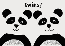 Twins! | Postkarte