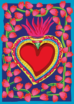 Poster - Corazón Mexicano