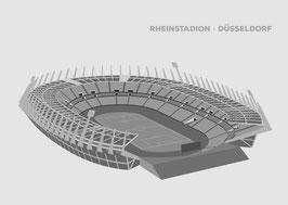 Rheinstadion Düsseldorf | Poster