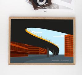 Düsseldorf 'Tausendfüßler'   Poster