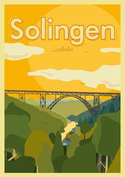 Solingen verbindet | Postkarte