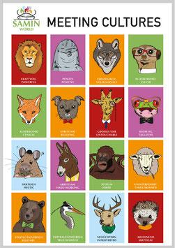 Meeting Culture Kartenset mit 32 Karten und 2 Plakaten
