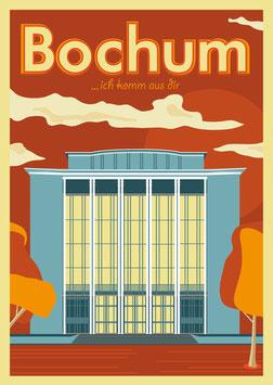 Poster DIN A3 - Bochum, ich komm aus dir