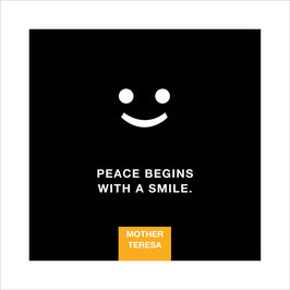 Poster 20 x 20 cm - Peace...