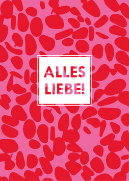 Alles Liebe! | Postkarte