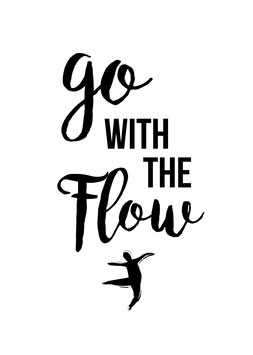go with the Flow | Poster