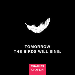 Tomorrow the Birds will sing | Postkarte