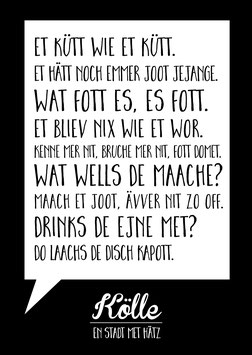 Kölle / Grundgesetz | Postkarte