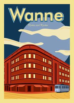 Stadt-Sparkasse Wanne | Postkarte