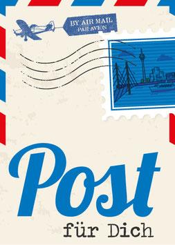 Düsseldorf / Post für dich | Postkarte