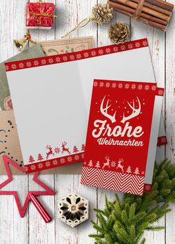 Frohe Weihnachten |  Klappkarte