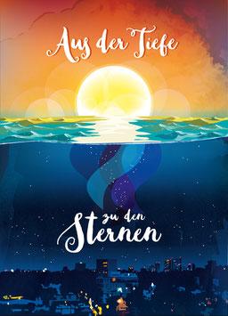 Poster - Aus der Tiefe zu den Sternen