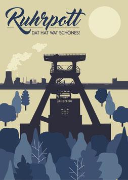 Ruhrpott / Dat hat wat schönes! | Postkarte