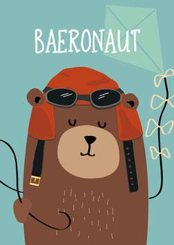 Baeronaut | Postkarte