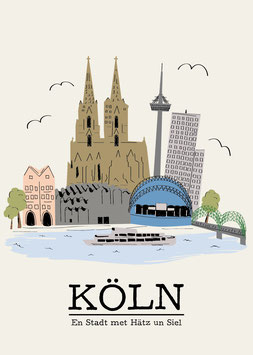 Poster - Köln