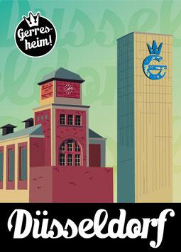 Düsseldorf / Gerresheim | Postkarte
