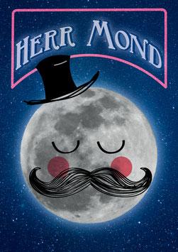 Poster DIN A4 - Herr Mond