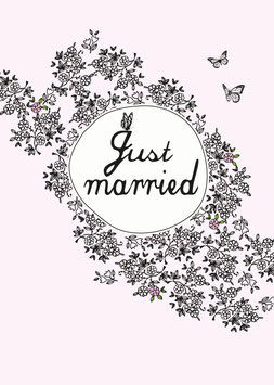 Just married | Postkarte