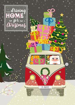 Driving Home for Christmas | Postkarte