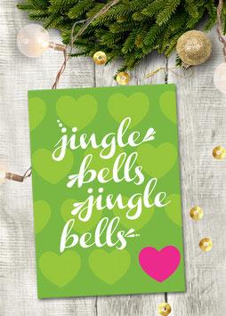 Jingle Bells | Postkarte