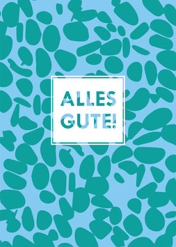 Alles Gute! | Postkarte