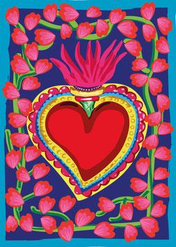 Corazón Mexicano | Postkarte