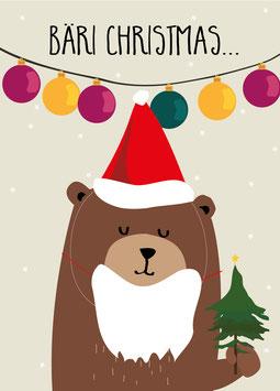Bäri Christmas | Poster DIN A4