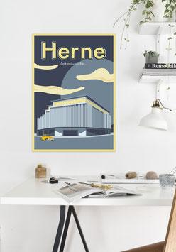 HERNE, denk mal wie schön | Poster