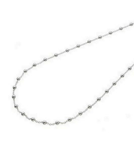 Collier argent perles THÉO
