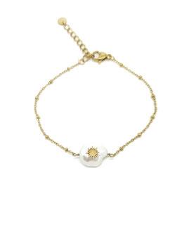 ALAN - Bracelet doré