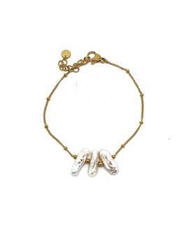 OSCAR - Bracelet doré