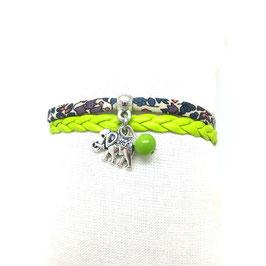 TANTOR - bracelet vert mini manchette