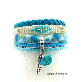 - 30 % Bracelet YUMA turquoise
