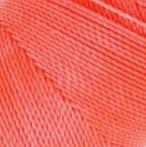 Fil ciré 0,5 mm CORAIL FLUO