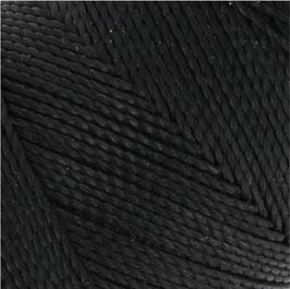 Fil ciré 0,5 mm NOIR