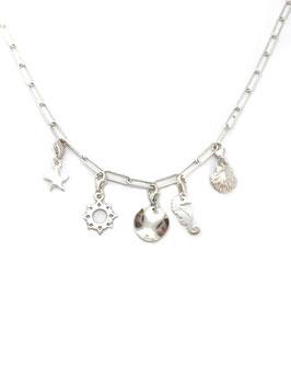 RAYAN ♥ coffret collier et charms argent