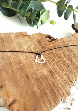 CŒUR - Bracelet cordon à nouer